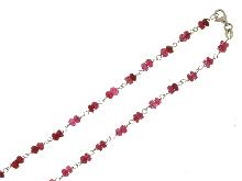 Collana con rubini