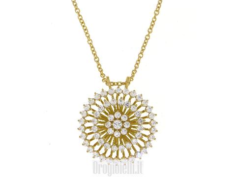 Collana con splendido centrale in oro
