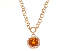 Gold Jewells: Necklace jewelry and precious stones