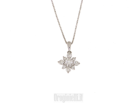 Collana oro diamanti per matrimonio