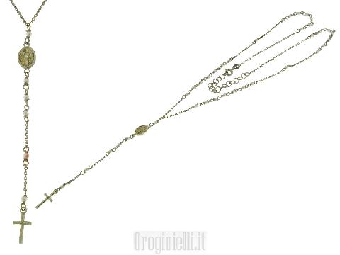 Collana rosario in silver 925