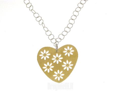 Collanina in argento per San Valentino