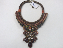 Collier BIANCO Bijoux outfit brown