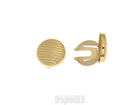 Accessori moda Copribottoni in oro giallo prezzi ottimi