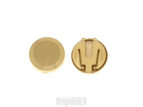 Accessori uomo Copribottoni in oro prezzi da outlet