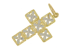 Croce  in oro 18 carati