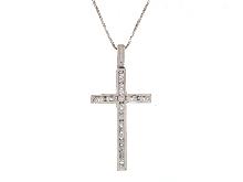 Croce con brillanti offertissima
