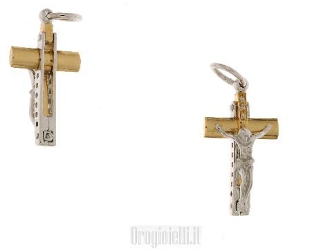 Croce da uomo per catena particolare