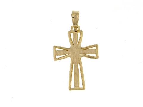 Crocifisso in oro giallo