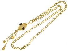 Fantastica chanel in bronzo dorato