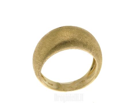 Anelli fascia donna: Fascia in oro giallo18kt satinato