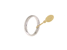Gold Jewells: Wedding Ring 1AR comfortable 3 mm white