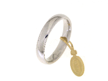 Gold Jewells: Comfortable Faith 1 AR in white gold