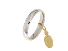 Fede Comoda 1 AR in  oro bianco