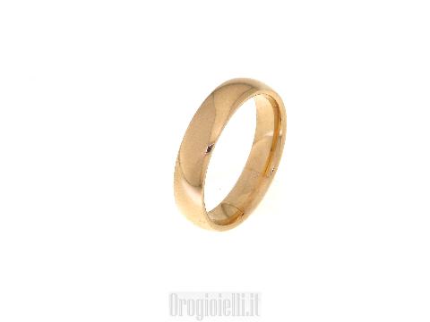 Fedi unoaerre in oro: Fede UNOAERRE per sposi