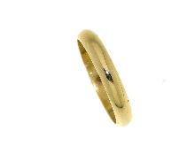 Fede classica in oro giallo gr.4