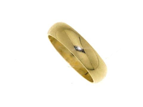 Fede nuziale mantovana in oro giallo