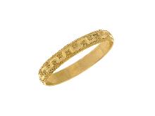 Fedina greca oro giallo