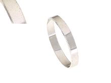 Fedina in oro bianco mm.3.5
