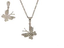 Gold Jewells: Italian 18k gold jewelry: gold butterfly