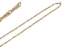 Gioielli Fratelli Bovo: Collana bicolore diamantato
