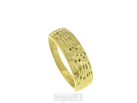 Anello fascia da donna oro - Gioielli di alta oreficeria