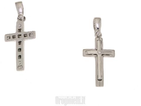 Gioiello uomo a forma di croce