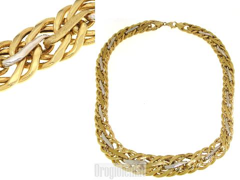 Girocolli da donna  in oro bicolore 18kt