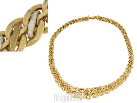 Girocolli in oro classici affari d'oro