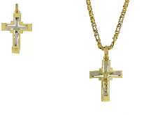 Gold Jewells: Gold necklaces for baptisms and communions