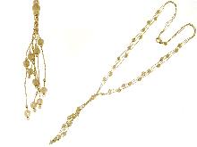 Girocolli mille fili in oro giallo 18kt