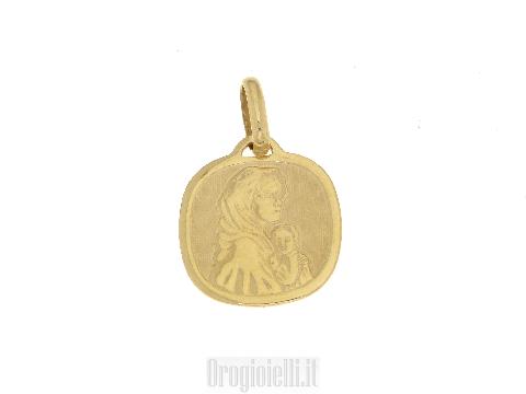 Madonna STELLA in oro giallo