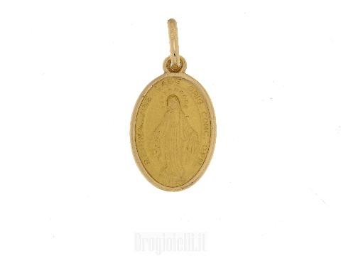 Medaglia Madonna Miracolosa in oro