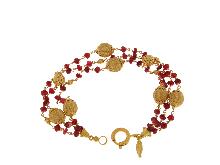 Monile in oro design italiano 18kt