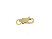Moschettone in oro giallo 18 carati