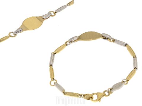 Noenato alla moda in oro bicolore
