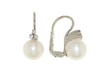 Orecchini  di perla in oro 18 carati