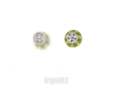 Orecchini double-face FANTIN