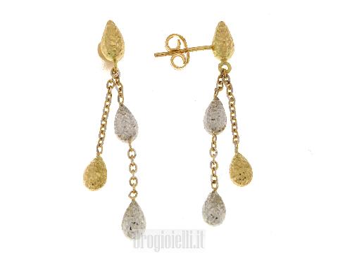 Orecchini manifattura italiana in oro