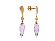 Gold Jewells: Earrings with diamonds outlet prices