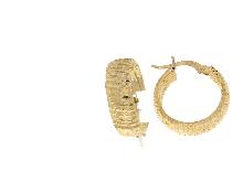 Orecchini cerchietto  in oro NOVELLO