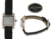 LOCMAN ITALY:  Orologio con cinturino struzzo