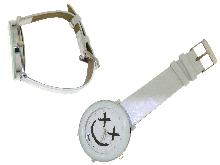 Orologi colorati in acciaio e zirconi