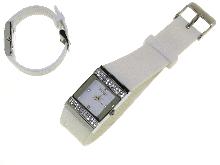 Orologi silicone colore bianco
