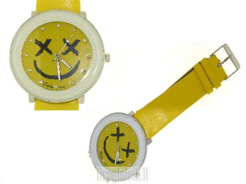 Orologi di Orogioielli - Orologio colorato giallo