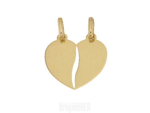 Pendente San Valentino in oro