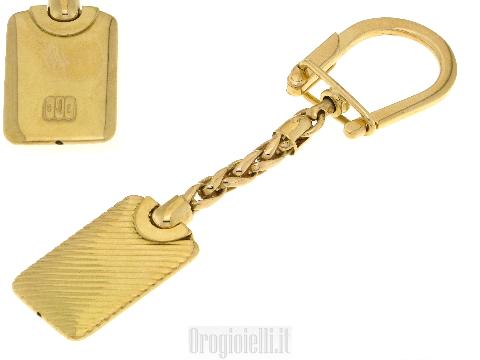 Portachiavi in oro per auto 18 karati