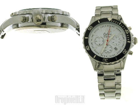 Pure Metal 40 MM Colori Watch All Steel White