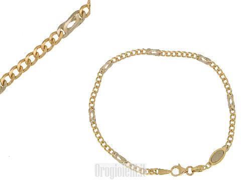Regali in oro per le comunioni - Bracciale oro classico