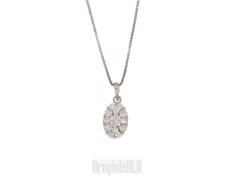 Regalo classico in diamanti per Sposa